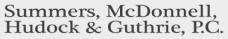 Summers, McDonnell, Hudock & Guthrie, P. C.